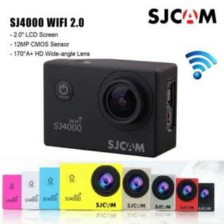 SJ4000 SJCAM Black Colour Sport Action Camera (Free Camera Case)