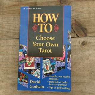 How to Choose Your Own Tarot book