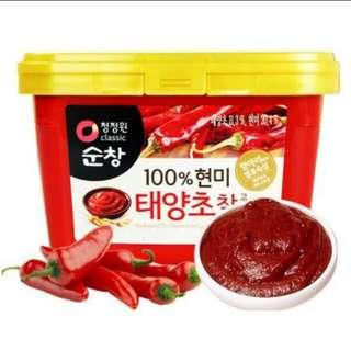 韓國順昌辣椒醬1公斤盒裝