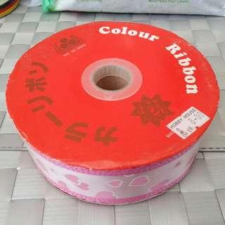 4cm pink ribbon