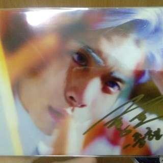 Kim Jonghyun's autograph