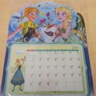 Elsa 小月曆