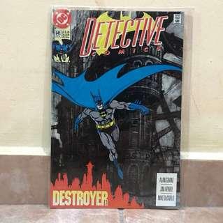 DC Comic Detective Comic Batman Destroyer