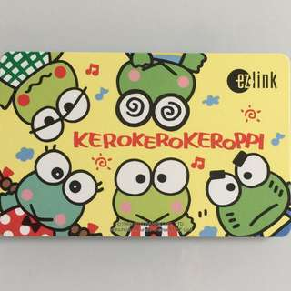 Limited Edition brand new Kerokerokeroppi 5 Frogs Design ezlink Card For $15.