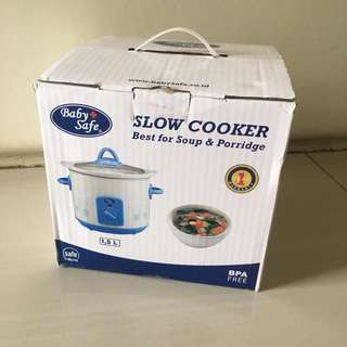 Baby safe slow cooker (1,5L)