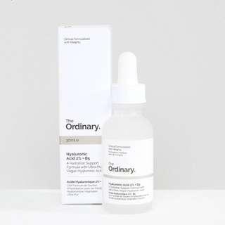 現貨 The ordinary hyaluronic Acid 2% +B5 30 ml