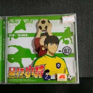全新:足球小將(卡通光碟)