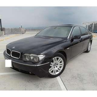 BMW E66 735LI 2005年 黑