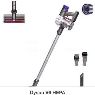 Dyson V6 HEPA (US version/美國版, Brand new 全新, 末開包裝/箱)