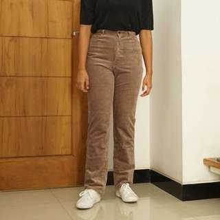 Purple Cordouray Jeans
