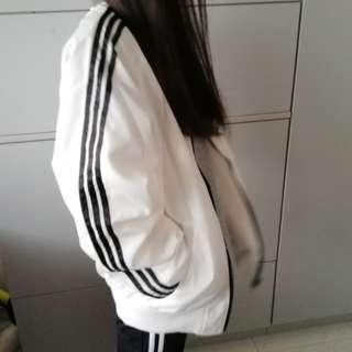 adidas lookalike jacket