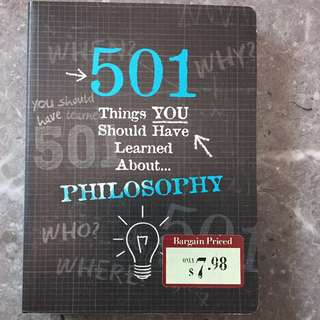 Philosophy book
