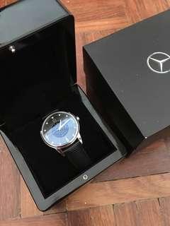 Mercedes Benz leather watch