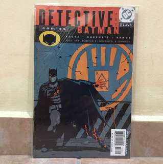 DC Comic Detective Batman