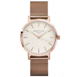Rosefield gold watch