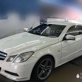 Mercedes E250 coupe sport