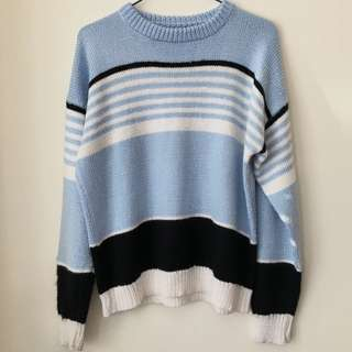 Blue Vintage Sweater