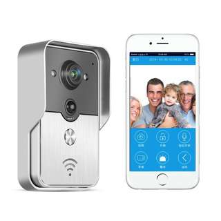 PowerLead Pdor D012 Doorbell Wifi Video Door Phone Doorbell Wireless Intercom Enabled Video Doorbell
