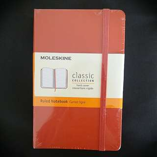 Moleskine classic collection hard cover notebook