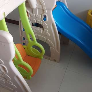 Kids Slide, Swing and play pen