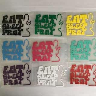 Car stickers size 10 x8cm