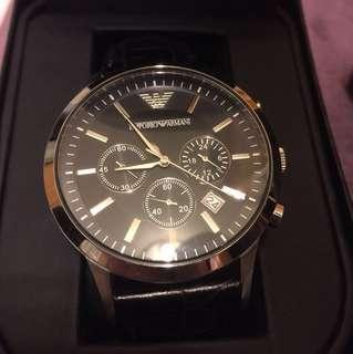 🚚 Armani 手錶 黑熊 我的阿曼尼
