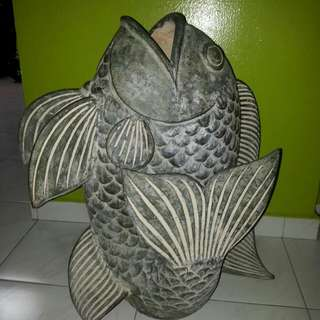 Fish design pot