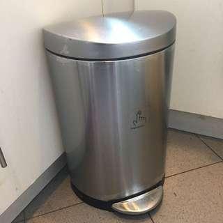 Simple Human 10L semi round trash can