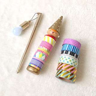 Pinocchio washi tape set