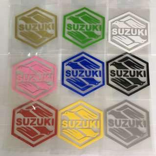 Motorcycle stickers size 8.5x 9cm