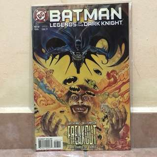 DC Comics Batman legends of the dark knight