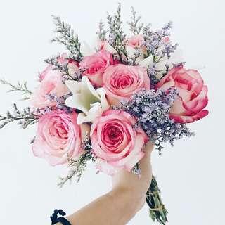 Designer classic romance bridal bouquet WD103