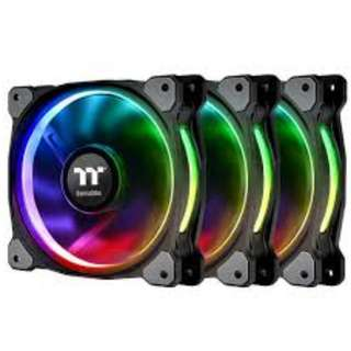 Thermaltake Riing Plus 14 RGB Radiator Fan - 3pack - CL-F056-PL14SW-A