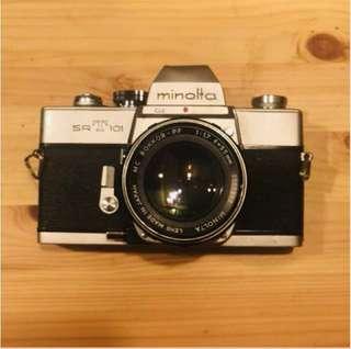 Minolta SRT 101 with 55 1.7 lens