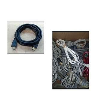 Kabel hdmi ori warna 2 pcs