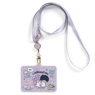 Japan Sanrio Little Twin Stars ID Case (Embroidery)