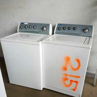 Whirlpool 8.2KG Washing Machine @ $150 Each ( Model :3XWTW5705SWO )