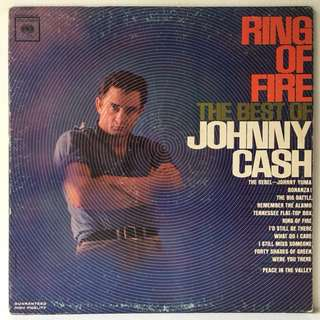 Johnny Cash ‎– Ring Of Fire - The Best Of Johnny Cash (1963 USA Original - Vinyl is Excellent)