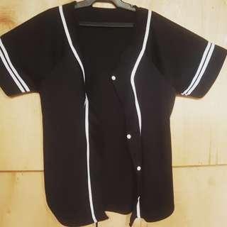 Baseball Jersey Jacket