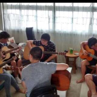 Fingerstyle Guitar and Ukulele lessons in Bishan