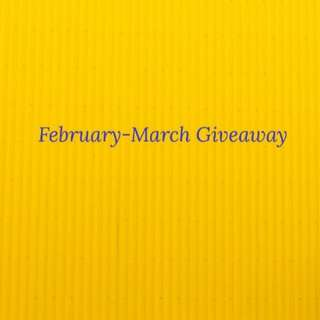 New giveaway!