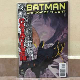 DC Comics Batman shadow of the Bat