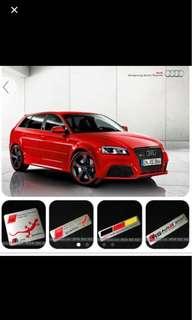 Audi emblems -3 Designs