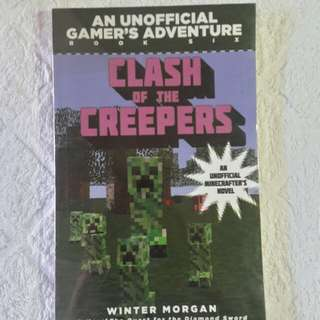 An Unofficial Gamer's Adventure: Clash of the Creepers Book Six