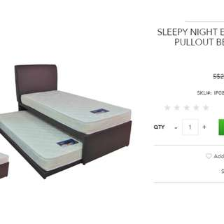 Pull Out Bed ( No Mattress )