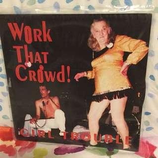 "Girl Trouble - 7"" vinyl record single - grunge era"