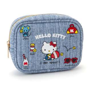 Japan Sanrio Hello Kitty Pouch (Embroidery)