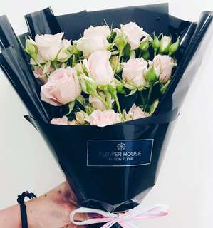Rose spray bouquet