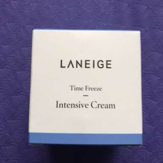Laneige time freeze intensive cream 50ml new!