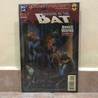 DC Comics Batman Shadow of the Bat Bruce Wayne